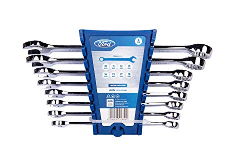 Ford 8-Piece Combination Wrench Set Metric ()