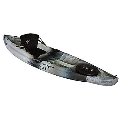 07.6160.3155 Ocean Kayak Caper Angler One-Person Sit-On-Top Fishing Kayak, Urban Camo, 11 Feet from Johnson Outdoors Watercraft