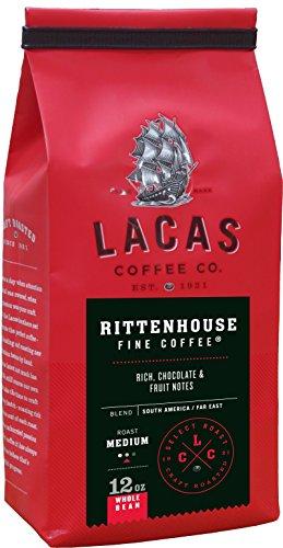 (Lacas Coffee Company Rittenhouse Fine Coffee Whole Bean 12 oz.)