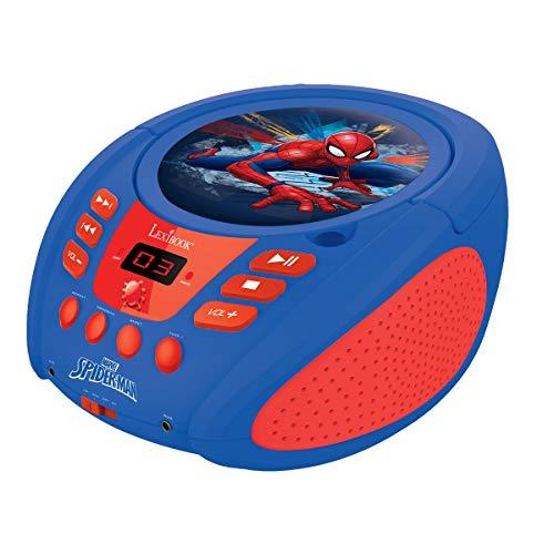 LEXiBOOK Spider-Man Boombox Radio CD Player by LEXiBOOK (Image #2)