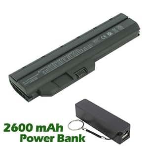 Battpit Bateria de repuesto para portátiles HP Pavilion dm1-1020es (4400mah / 48wh) con 2600mAh Banco de energía / batería externa (negro) para Smartphone