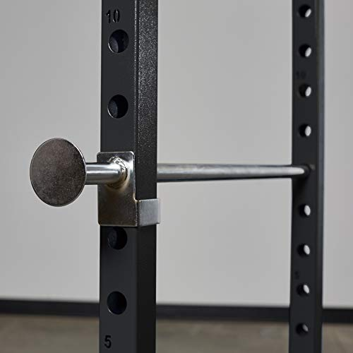 Rep PR-1100 Power Rack - 1,000 lbs Rated Lifting Cage for Weight Training (Metallic Black Power Rack, No Bench) by Rep Fitness (Image #2)
