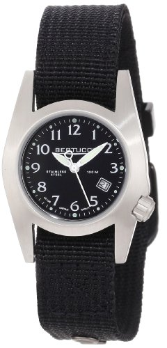 Twirl Steel Watch - Bertucci Women's 18000 M-1S Durable Stainless Steel Field Watch