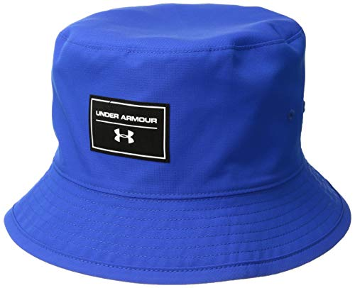 Under Armour Boys Switchback Bucket Cap, Ultra Blue (907)/White, One Size