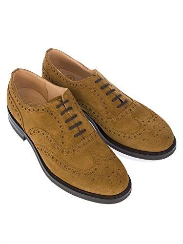 Church's Homme AMERSHAMMARACCA Marron Suède Chaussures À Lacets uN4P0Us7