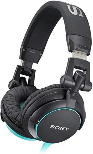 Sony MDR-V55 DJ – hoofdtelefoon headset – zwart 25 EU zwart, blauw