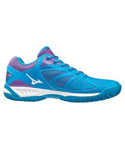 Mizuno Wave Exceed Tour CC Women's Tennis Shoes blue - white - pink DjkLwL