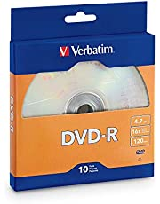 Verbatim DVD-R 4.7GB 16x Recordable Media Disc - 10 Disc Box