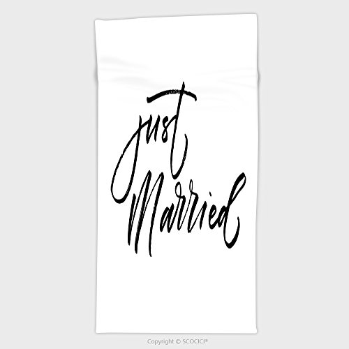 Just Married Beach Towels - 5