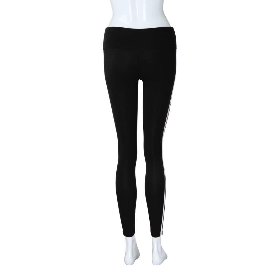 48257c58ff255 Amazon.com: Perman Womens Pants, Sports Yoga Running Gym Skinny High Waist  Stretch Trousers Leggings: Clothing