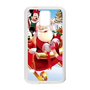 Samsung Galaxy S5 Cell Phone Case White Mickey's Magical Christmas Snowed in at the House of Mouse 009 KYS1128915KSL