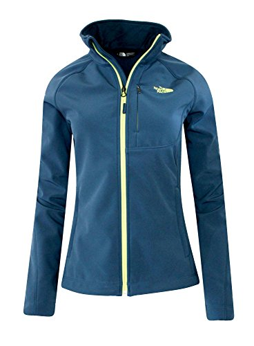 The North Face 2016 Apex Bionic Full Zip Soft Shell Jacket - Women's SHADY BLUE (S)
