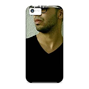 Tpu Case Cover For Iphone 5c Strong Protect Case - Drake Sunglasses Design