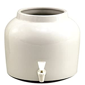 New Wave Enviro Products Porcelain Water Dispenser White (Single), 2.5-Gallon