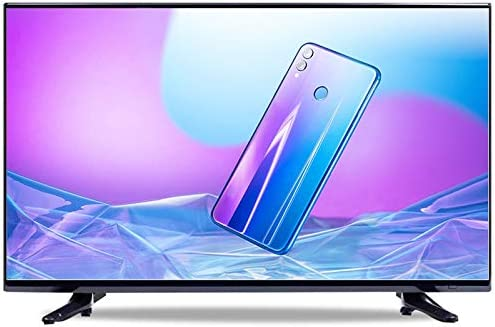 YILANJUN 32/42/46/55/60 Inch Full 4k HD LED Smart TV Internet Television, Built-in WiFi, Perfect Screen Explosion-proof [Voice + Projection + Eye Protection]