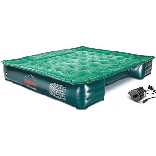 "Price comparison product image AirBedz Lite (PPI PV202C) Full Size Short and Long 6'-8' Truck Bed Air Mattress with DC Corded Pump (76""x63""x12"" Inflated)"