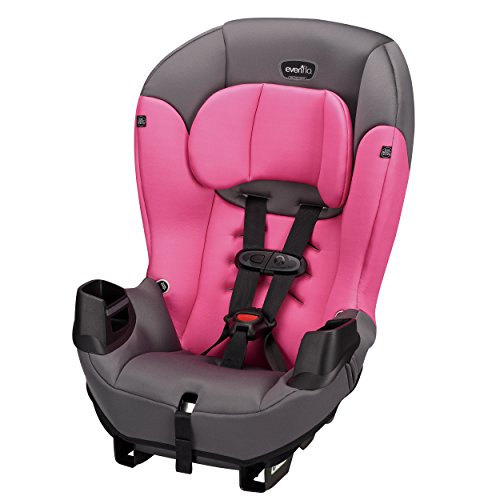 Evenflo Sonus Convertible Car Seat, Strawberry Pink