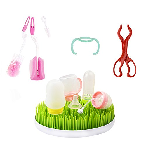 Sealive Baby Bottle Drying Rack,Milk Bottle Handle,Multi-fun