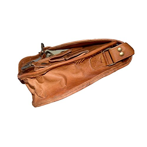 Desert Town M-LSBG-33-2PKT-1850, Borsa a tracolla donna marrone Brown medium