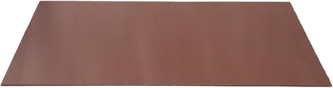 Panel PFCC201 de tejido duro fenólico de 0,5 mm aprox. 1020 x 530 mm