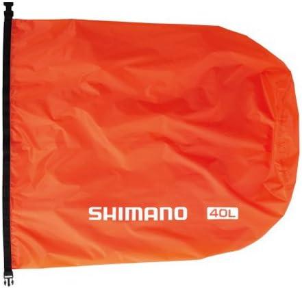 シマノ(SHIMANO) ライトドライサック PC-072M オレンジ 40L