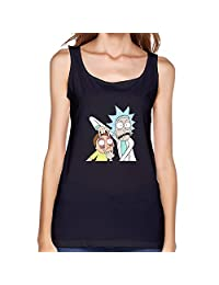 Stabe Style Women's Morty Rick And Morty 100% Cotton Tank Top