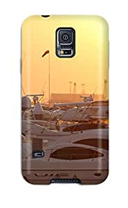 High Quality Yacht Sunset Tpu Case For Galaxy S5