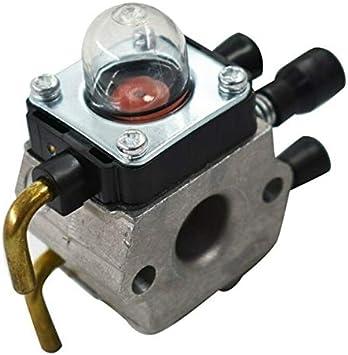 para Herramientas de Mano Filtro de Aire del carburador Coche Tubería Accesorios C1q-S97 / 4140 120 0612 for Stihl FS38 FS45 FS46 55R 55 55C