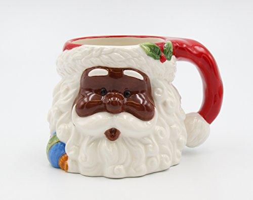 African American Mug (Cosmos Gifts 56565 African American Santa Mug 16oz.)