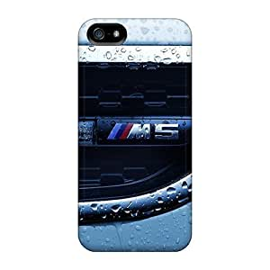Defender Cases For Iphone 5/5s, Closeup Cars Water Drops Bmw M5 Pattern
