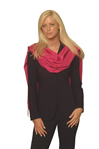 SCARVES-PASHMINA STOLE from Cashmere Pashmina Group in 55 vibrant colors (FUCHSIA)