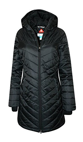 Columbia Black Parka - 1