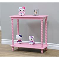 Frenchi Home Furnishing 2 Tier Shelves, Pink