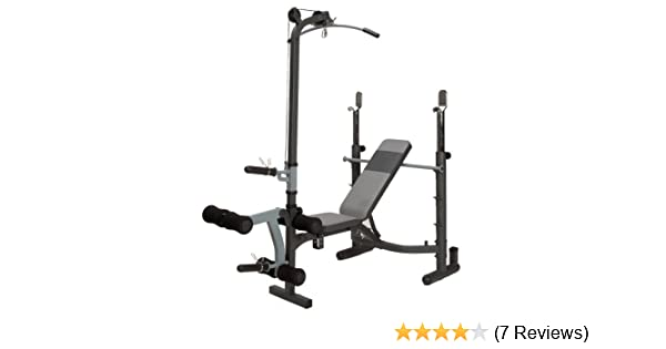 Amazon.com : Marcy MWB-765 Midsize Bench : Adjustable Weight Benches : Sports & Outdoors