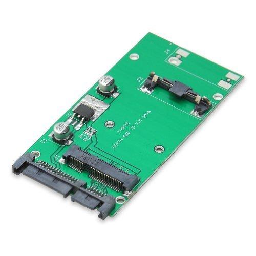 Portable & Gadgets Syba 50mm mSATA SSD to 2.5-Inch SATA Converter Adapter SI-ADA40066 by Portable & Gadgets