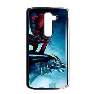 LG G2 Cell Phone Case Black Spiderman On Statue Fsheh