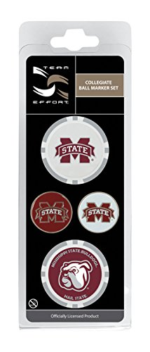 Team Effort Mississippi State Bulldogs Ball Marker Set