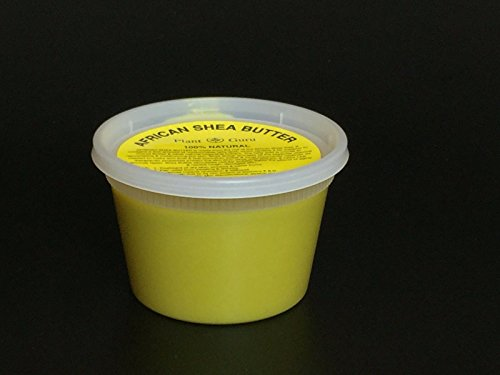 African Butter Yellow Unrefined container