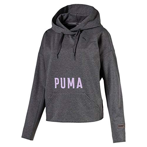 Hoodies Gate Puma Heather Hoody Iron Female Fusion Sweatshirts L And UwqwCp