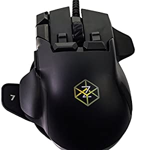 Swiftpoint Z Computer Gaming Mouse - Award Winning High Performance MMO Gaming Mouse – Ideal for MMORPG MOBA Flight & FPS Games - 50+ Unique Click & Gesture Actions With World First Pivot Tilt & Roll