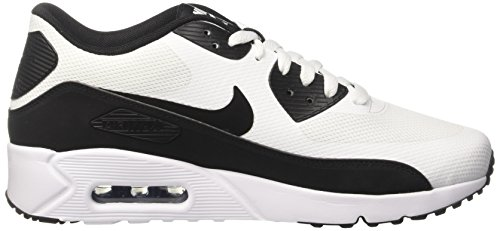 Nike Air Max 90 Ultra 2,0 Essentielle Herre Running-sko 875695-100_9.5 - Hvid / Sort-hvid