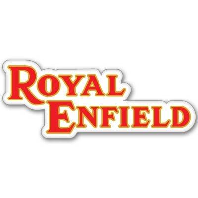 Royal EnfieldオートバイスタイリングエンブレムVynil車ステッカーデカール – 選択サイズ X-Small: 2.5