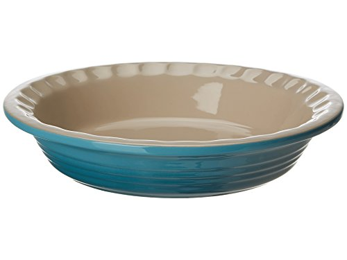 Heritage Pie Dish Color: Caribbean, Size: -