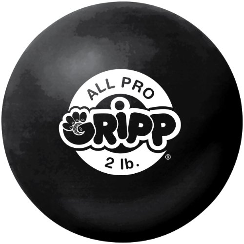 IRON GLOVES All Pro Gripp Hand Strengthener (Black, 2 LBS)