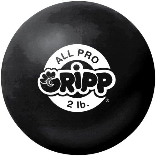 IRON GLOVES All Pro Gripp Hand Strengthener (Black, 2 LBS)