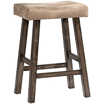 Amazon Com Rustic Bar Stool 24 Inches Contemporary
