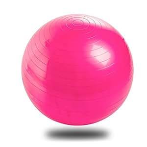 Protección Del Medio Ambiente Engrosamiento Inflable Pelota De Yoga A Prueba De Explosiones Para Las Mujeres Embarazadas Yoga Bola Bola Bola De La Aptitud Dar Forma A Los 65 * 65cm,Pink