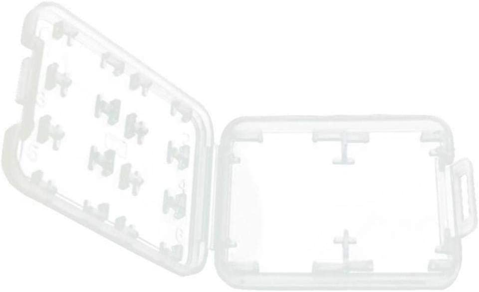 Multifunctional Clear Micro SD TF SDHC MSPD Memory Card Storage Box Holder Case