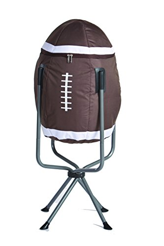 Large Insulated Football Shaped Tub Cooler for Tailgating By Picnic Plus by Picnic Plus