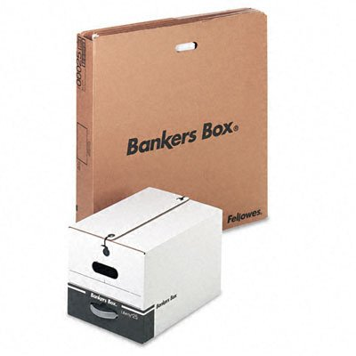 Liberty Storage Box Letter (Bankers Box 00025 - Liberty Max Strength Storage Box, Letter/Legal 1/Ctn)